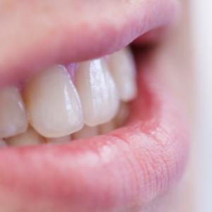 Lächeln Zähne